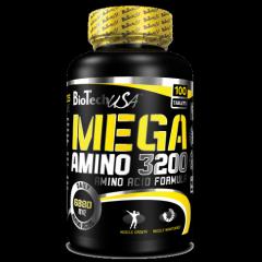 Аминокислота  Mega Amino 3200 100 таблеток BioTech