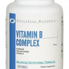 Витамины Vitamin B, таблеток 100