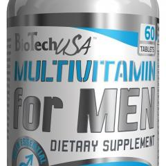 Vitamins and minerals of Multivitamin for Men 60