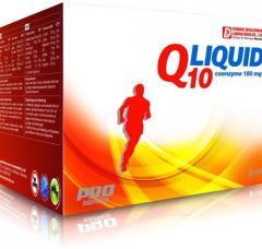 Vitamins and minerals of Q Liquid of 1 piece, 180