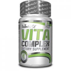 Vitamins and minerals of Vita Complex 60 of the
