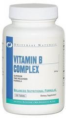 Витамины и минералы Vitamin B Complex 100 таблеток