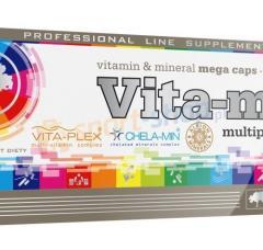 Vitamins and minerals of Vita-min Multiple Sport
