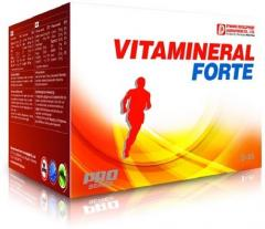 Vitamins and minerals of Vitamineral Forte 11 of,