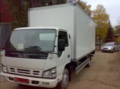 Bodies - vans and onboard platforms to trucks