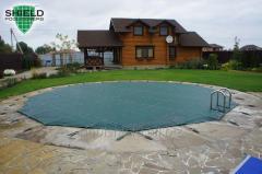Cobertura protetora para piscinas Escudo
