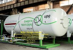 Резервуар для сжиженого углеводородного газу