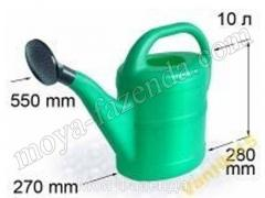 Garden watering can for watering of 10 l Kiev