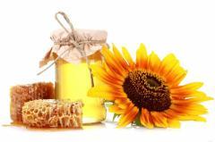 Мёд из подсолнуха