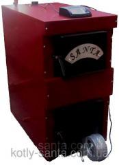 Котел твердотопливный Санта-25кВт с автоматикой