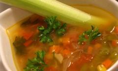 """Broths of instant preparation """"The"""