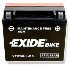 Аккумулятор EXIDE YTX20HL-BS