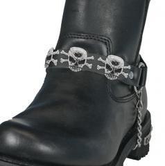 Цепь для ботинок Hot leathers Skull and Bones