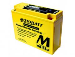 Аккумулятор гелевый Motobatt MB16AU 20,5Ah 230A