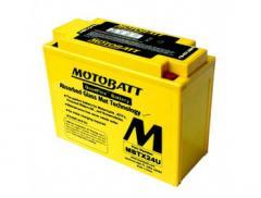 Аккумулятор гелевый Motobatt MBTX24U 25Ah 285A