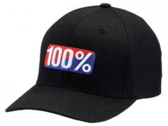 Кепка 100% OG FlexFit Black S/M