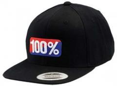Кепка 100% OG Classic SnapBack Black Muiltisize