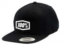 Кепка 100% CORPO Classic SnapBack Black-White Multisize