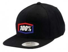 Кепка 100% CORPO Classic SnapBack Black-Blue-Red Multisize