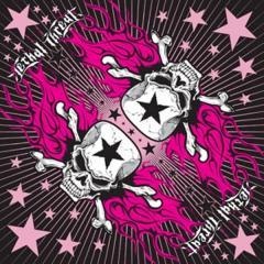Бандана Zan Lethal Threat Pink Star