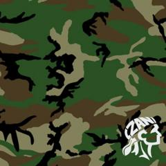 Бандана Zan Woodland Camouflage