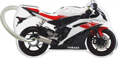 Print Yamaha R6 2008 Black-White-Red