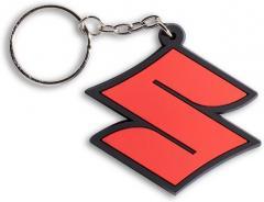 Брелок Suzuki S лого Red