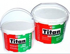 Paint for walls and ceilings of MIXON TITAN