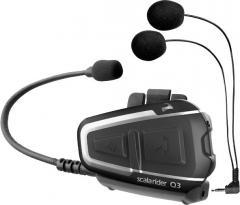 Переговорное устройство Bluetooth Scala Rider Q3 Black