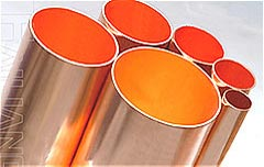 Pipe copper for refrigerating and air conditioning