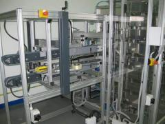 Packaging line. Modular elements of the ITEM