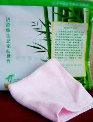 Napkin from bamboo for face and body