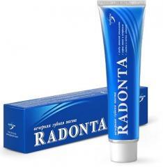 Вечерняя зубная паста «Radonta»