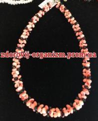 Ожерелье  из розового коралла Скидка