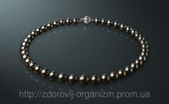 Ожерелье Чeрный жeмчуг Таити