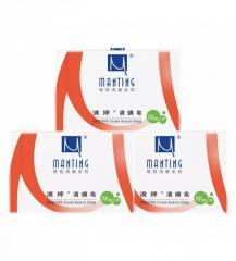 Manting soap from acne rash and pigmentation of