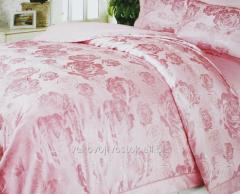 Bed linen with biophotons and turmaliny the