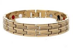 Magnetic bracelet of Pentactiv East Gold