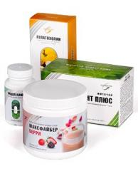 The clearing program for digestive tract and liver