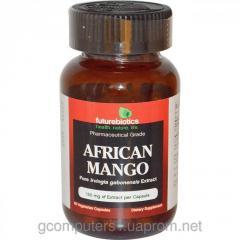 African FutureBiotics mango of 150 mg of 60