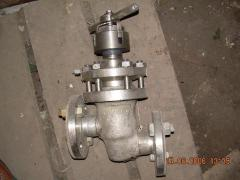 The gate the valve locking bellows-sealed a