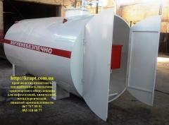 Мини АЗС  10 куб.м для дизельного топлива