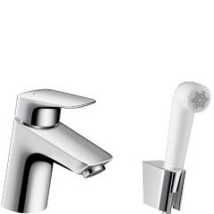 The mixer for Hansgrohe Logis sink with a hygienic