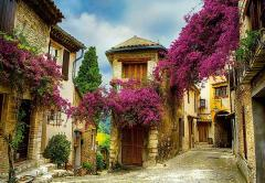 """Photowall-paper """"The old city"""