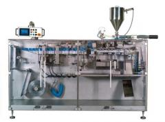 The automatic machine for packaging of liquid and
