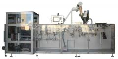 The automatic machine for packaging of loose
