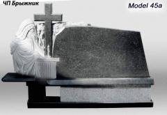 Monument from granite model 45 and