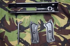 Бакелит на пистолет-пулемет МП цвет черный