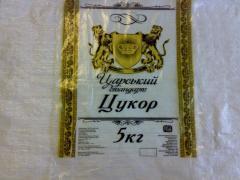 Полиэтиленовый мешок для сыпучих продуктов