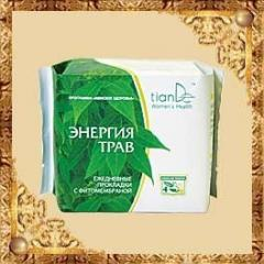 Energy of Herbs panty liners